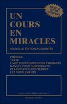 Couverture du livre « Un cours en miracles » de Helen Schucma et William Thetford aux éditions Octave