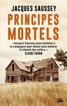 Couverture du livre « Principes mortels » de Jacques Saussey aux éditions Bragelonne