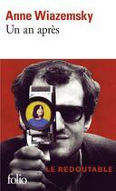 Couverture du livre « Un an après » de Anne Wiazemsky aux éditions Gallimard