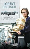 Couverture du livre « Métronome » de Lorant Deutsch aux éditions Pocket