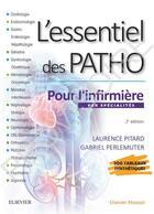 Couverture du livre « L'essentiel des patho ; par spécialités pour l'infirmière » de Gabriel Perlemuter et Laurence Rousseau-Pitard aux éditions Elsevier-masson