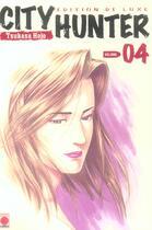Couverture du livre « City Hunter T.4 » de Tsukasa Hojo aux éditions Panini