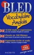 Couverture du livre « Bled vocabulaire et conversation anglais » de Annie Sussel aux éditions Hachette Education