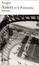 Couverture du livre « Anicet ou le panaroma, roman » de Louis Aragon aux éditions Gallimard