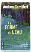 Couverture du livre « La forme de l'eau » de Andrea Camilleri aux éditions Pocket