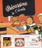 Couverture du livre « Bécassine à l'école ; Chansons de France ; coffret » de Caumery et Joseph-Porphyre Pinchon aux éditions Gautier Languereau
