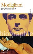 Couverture du livre « Modigliani » de Christian Parisot aux éditions Gallimard