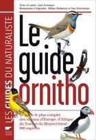 Couverture du livre « Le guide ornitho (édition 2010) » de Killian Mullarney et Lars Svensson et Dan Zetterstrom aux éditions Delachaux & Niestle