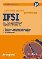 Couverture du livre « IFSI ; catégorie B (édition 2010/2011) » de Annabelle Guillemard aux éditions Studyrama