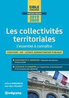 Couverture du livre « Les collectivités territoriales ; l'essentiel à connaître (édition 2019/2020) » de Jean-Marc Pasquet et Jerome Kerambrun aux éditions Studyrama