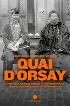 Couverture du livre « Dans les archives secrètes du Quai d'Orsay » de Emmanuel De Waresquiel aux éditions L'iconoclaste