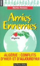 Couverture du livre « Amies Ennemies » de Martine Romano aux éditions Michalon