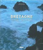Couverture du livre « Bretagne ; terre sauvage » de Erwan Balanca et Jean-Yves Monnat aux éditions Glenat