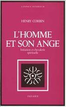Couverture du livre « L'homme et son ange » de Henry Corbin aux éditions Fayard