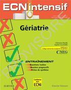 Couverture du livre « Gériatrie » de Pierre Seners et Clement Cholet et Clemence Boully et Sophie Cocchiello aux éditions Elsevier-masson