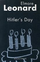 Couverture du livre « Hitler's day » de Elmore Leonard aux éditions Rivages