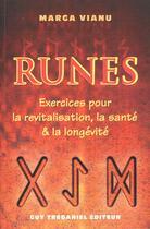 Couverture du livre « Runes » de Marga Vianu aux éditions Tredaniel