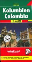 Couverture du livre « Colombia » de  aux éditions Freytag Und Berndt