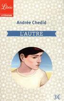 Couverture du livre « L'autre » de Andree Chedid aux éditions J'ai Lu