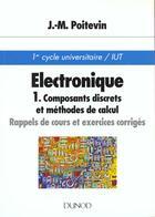 Couverture du livre « Electronique » de Jean-Marc Poitevin aux éditions Dunod