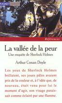 Couverture du livre « La vallée de la peur ; une enquête de Sherlock Holmes » de Arthur Conan Doyle aux éditions Pocket