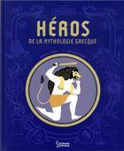 Couverture du livre « Top 10 des héros de la mythologie grecque » de Helene Le Heno aux éditions Larousse