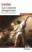 Couverture du livre « Les liaisons dangereuses » de Pierre Choderlos De Laclos aux éditions Gallimard