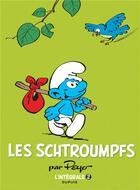 Couverture du livre « Les Schtroumpfs ; INTEGRALE VOL.2 ; 1967-1969 » de Peyo aux éditions Dupuis