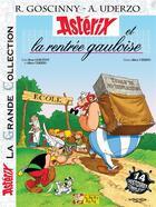 Couverture du livre « Astérix t.32 ; Astérix et la rentrée gauloise » de Rene Goscinny aux éditions Albert Rene