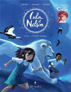 Couverture du livre « Lulu et Nelson T.1 ; cap sur l'Afrique » de Aurelie Neyret et Charlotte Girard et Jean-Marie Omont aux éditions Soleil