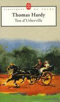 Couverture du livre « Tess d'urberville » de Thomas Hardy aux éditions Lgf