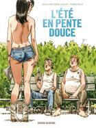 Couverture du livre « L'été en pente douce » de Pierre Pelot et Jean-Christophe Chauzy aux éditions Fluide Glacial