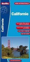 Couverture du livre « Californie ; carte routière et touristique » de Collectif aux éditions Berlitz