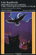 Couverture du livre « Historia de una gaviota y del gato » de Luis Sepulveda aux éditions Celesa