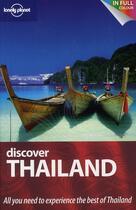 Couverture du livre « Discover Thailand » de Williams China aux éditions Lonely Planet France