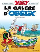 Couverture du livre « Astérix t.30 ; la galère d'Obélix » de Rene Goscinny et Albert Uderzo aux éditions Albert Rene
