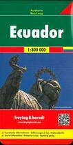 Couverture du livre « Ecuador » de  aux éditions Freytag Und Berndt