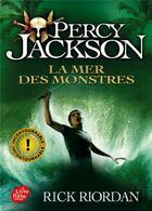 Couverture du livre « Percy Jackson T.2 ; la mer des monstres » de Rick Riordan aux éditions Hachette Jeunesse
