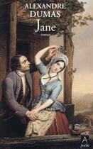 Couverture du livre « Jane » de Alexandre Dumas aux éditions Archipel