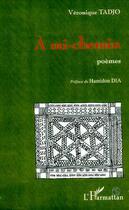 Couverture du livre « A mi-chemin - poemes » de Véronique Tadjo aux éditions Editions L'harmattan