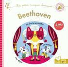 Couverture du livre « Beethoven - livre sonore » de Amy Blay aux éditions Deux Coqs D'or