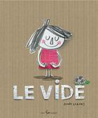 Couverture du livre « Le vide » de Anna Lienas aux éditions 400 Coups