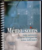 Couverture du livre « Memo-soins » de Letarte P. aux éditions Modulo