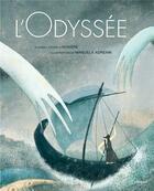 Couverture du livre « L'odyssée » de Homere et Manuella Andreani aux éditions L'imprevu