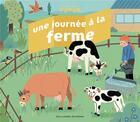 Couverture du livre « Une journée à la ferme » de Emmanuelle Kecir-Lepetit et Magli Attigobe aux éditions Gallimard-jeunesse