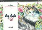 Couverture du livre « Calendrier perpétuel les chats d