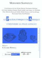 Couverture du livre « Paleolithique en afrique l'histoire la plus longue (le) » de Sahnouni Mohamed aux éditions Errance