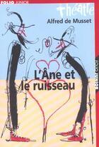 Couverture du livre « L'ane et le ruisseau » de Alfred De Musset aux éditions Gallimard-jeunesse