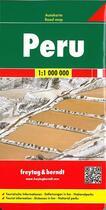 Couverture du livre « Peru » de  aux éditions Freytag Und Berndt
