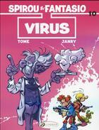 Couverture du livre « Spirou & Fantasio adventures T.10 ; virus » de Tome et Janry aux éditions Cinebook